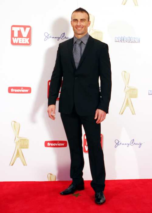 Steve Willis at TV Week Logies 2011