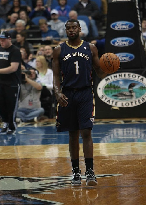 Tyreke Evans during a match in January 2014