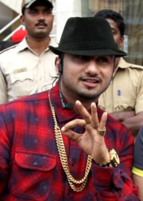 Yo Yo Honey Singh at the Celebrity Cricket League in February 2014