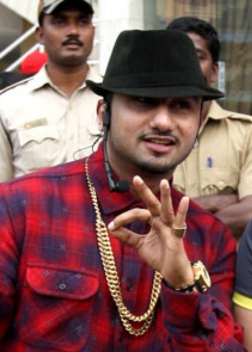 Yo Yo Honey Singh at the Celebrity Cricket League in February 2014