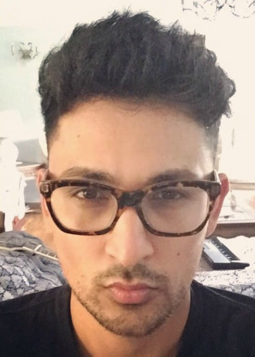 Zack Knight in an Instagram selfie as seen in September 2016
