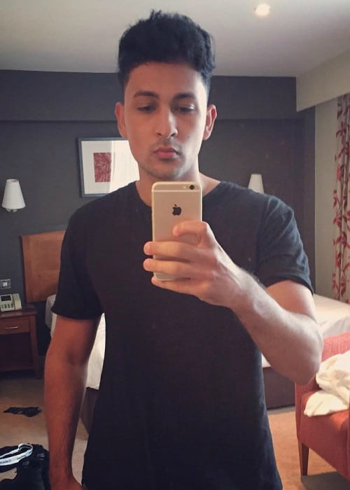 Zack Knight in an Instagram selfie in August 2016