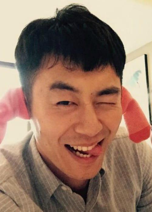 Zhu Yawen in a selfie