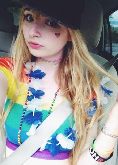 Zoe McLane in an Instagram selfie in June 2015