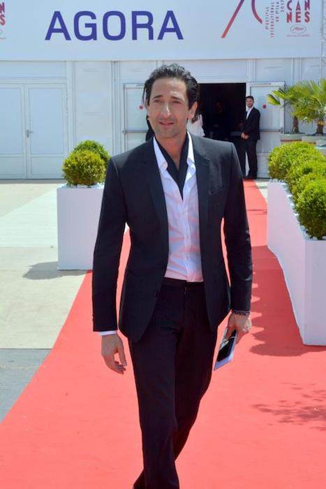 Adrien Brody at the Cannes Film Festival 2017