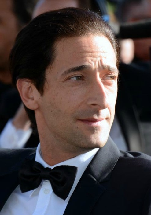 Adrien Brody at the Cannes Film Festival in 2013