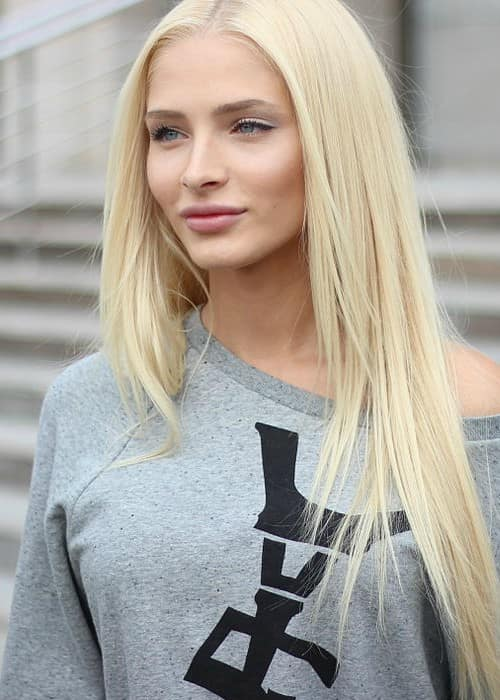 Alena Shishkova as seen in April 2011