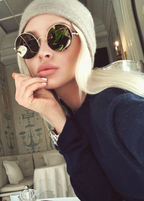Alena Shishkova in a selfie in March 2018