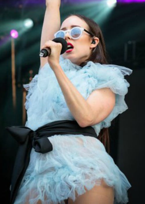 Allie X as seen in July 2015