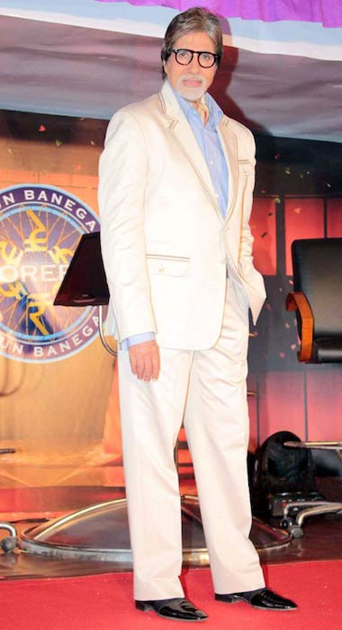 Amitabh Bachchan at KBC-5 Press Meet in 2011