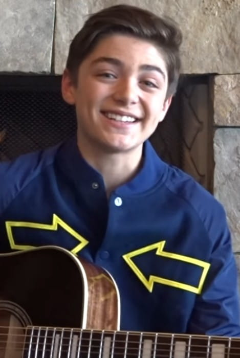 Asher Angel as seen in October 2017