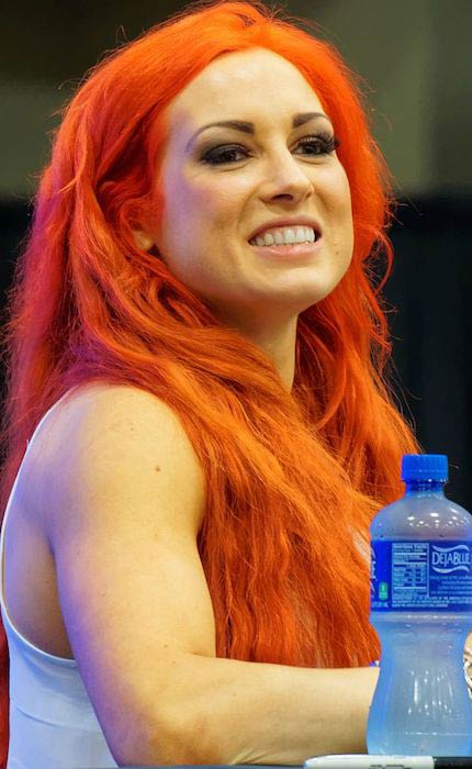 Becky Lynch at WrestleMania 32 Axxess in March 2016