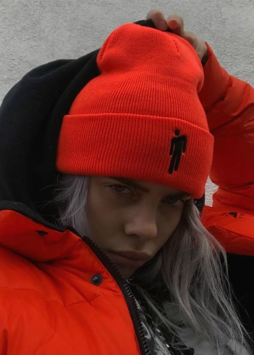 Billie Eilish as seen in December 2017