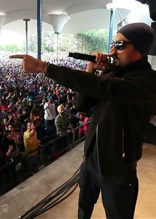 Bohemia performing at Canada's Wonderland in August 2014