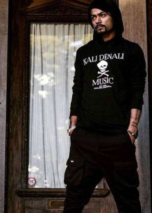 Bohemia promoting Kali Denali Hoodies in February 2015