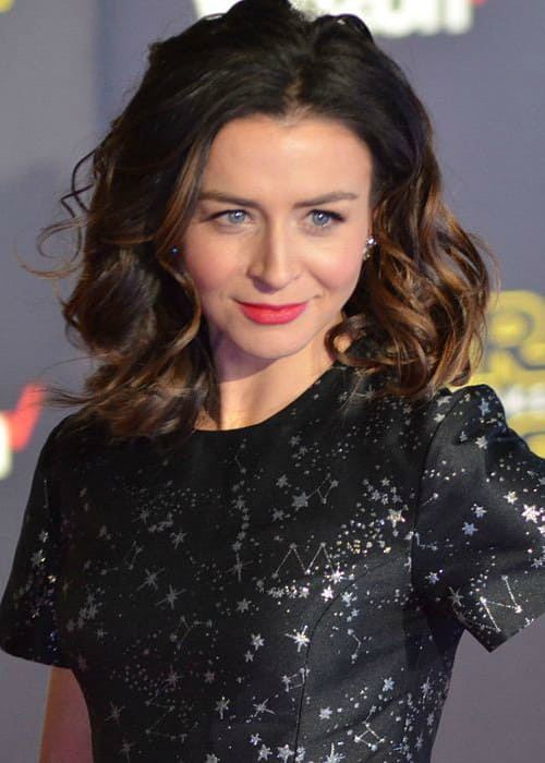 Caterina Scorsone at the World Premiere of Star Wars The Force Awakens in December 2015