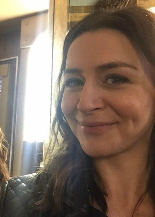 Caterina Scorsone in a selfie in February 2018
