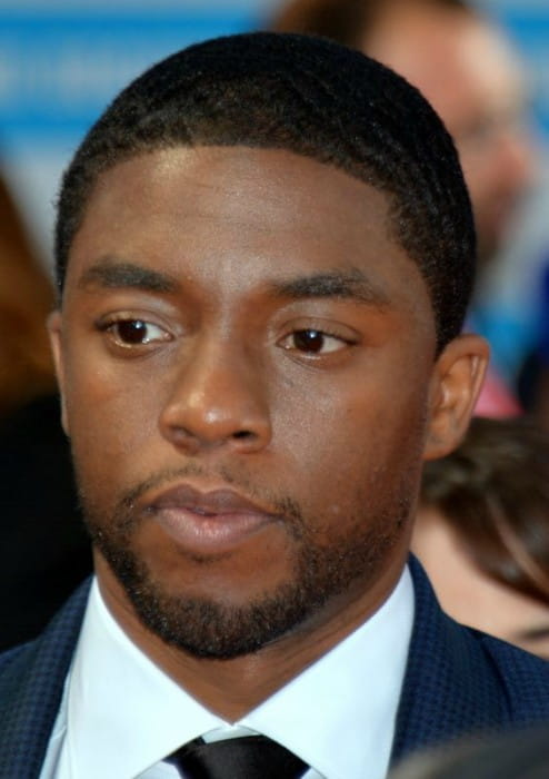 Chadwick Boseman at the Deauville Film Festival in September 2014