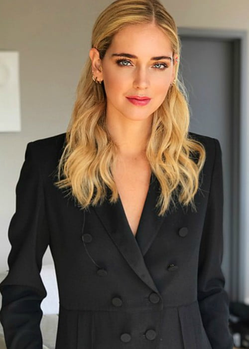 Chiara Ferragni as seen in November 2017