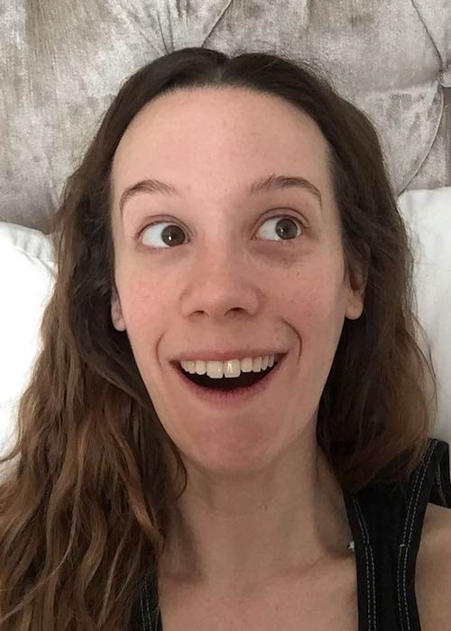 Chloe Pirrie looks adorable in a September 2017 picture