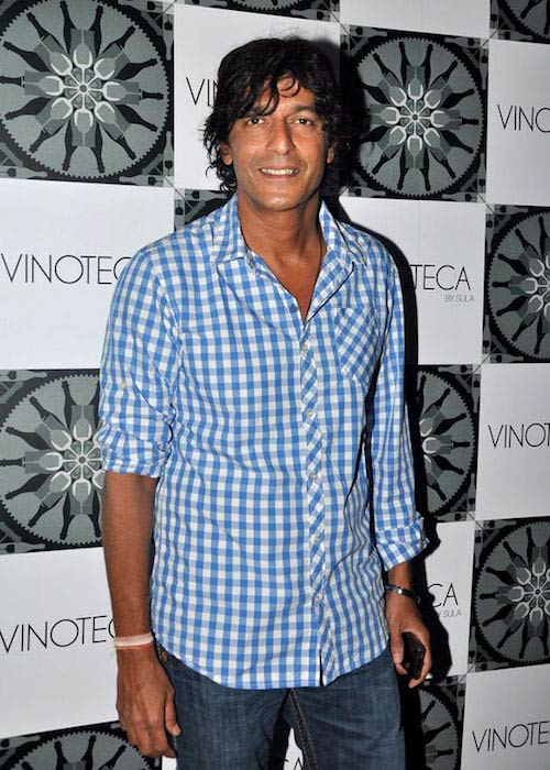 Chunky Pandey at Forest success party in 2012