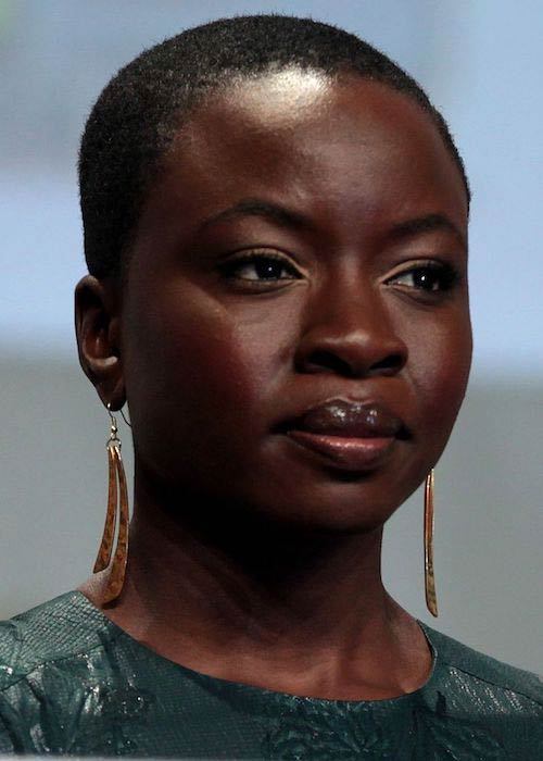 Danai Gurira at the 2014 San Diego Comic-Con International