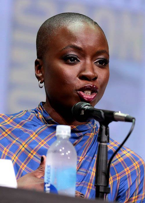 Danai Gurira at the 2017 San Diego Comic-Con International