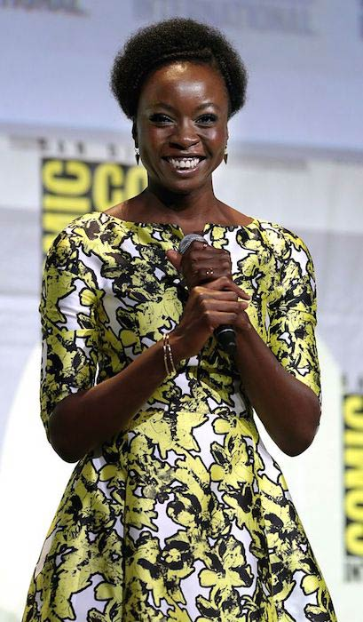 Danai Gurira during the 2016 San Diego Comic-Con International