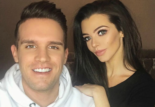 Emma McVey and Gaz Beadle as seen in December 2017