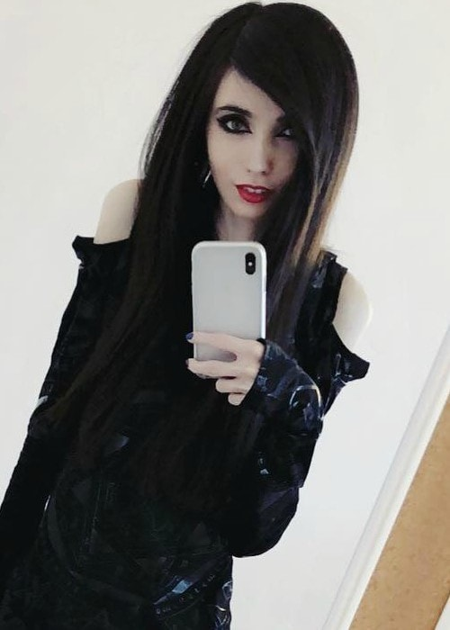 Eugenia Cooney in a selfie in January 2018