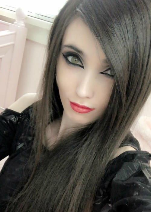 Eugenia Cooney in an Instagram selfie as seen in January 2018