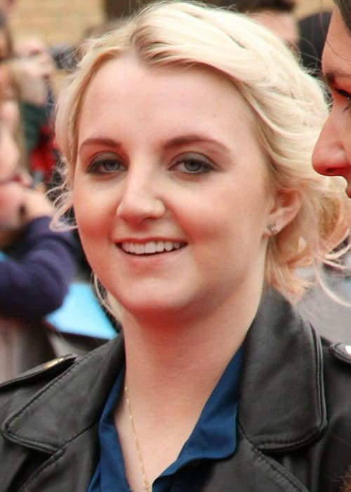 Evanna Lynch at the Harry Potter Studio Tour in March 2012