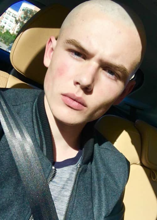 Garrett Wareing in an Instagram selfie as seen in May 2017