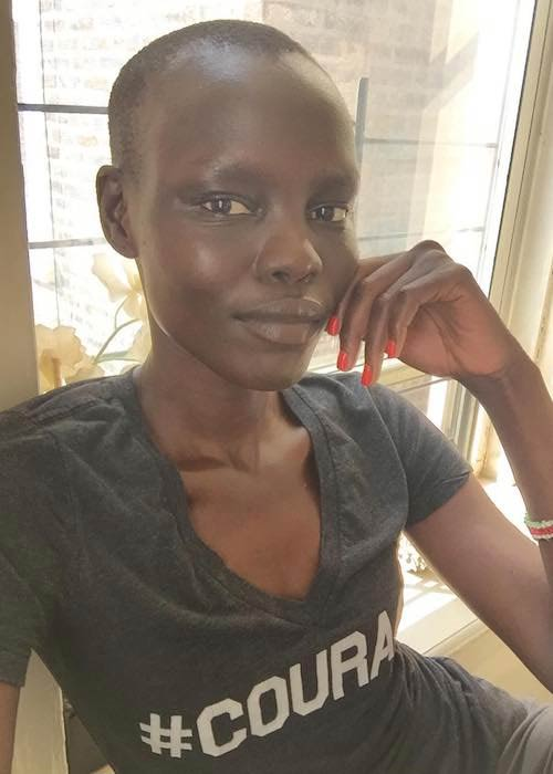 Grace Bol in August 2017 selfie