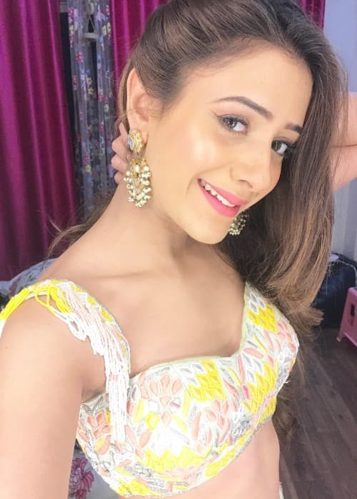 Hiba Nawab as seen in February 2018