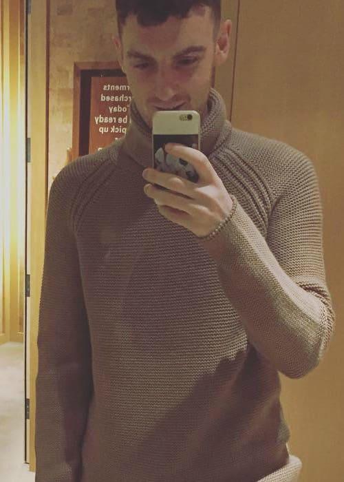 Jack Patterson in an Instagram selfie as seen in November 2015