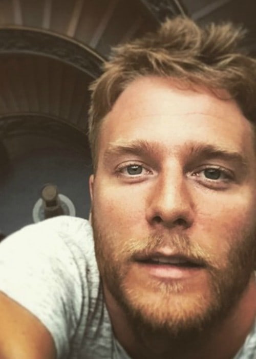 Jake McDorman at the Vatican museum in June 2015