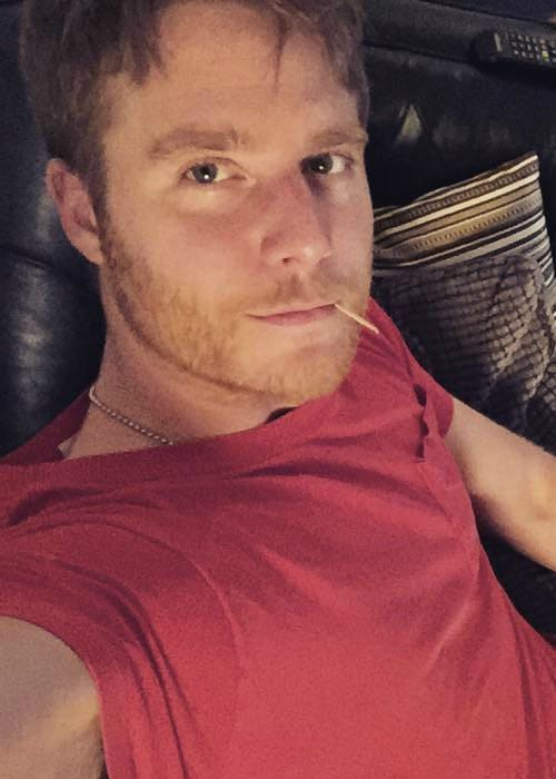 Jake McDorman in a selfie in January 2016