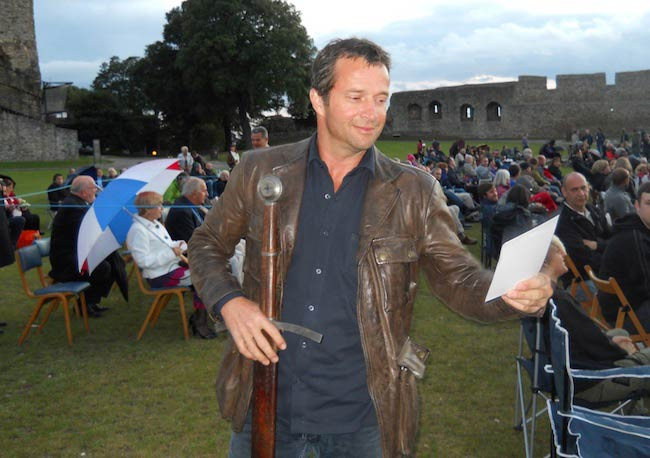 James Purefoy during Ironclad screening at Rochester Castle in 2011