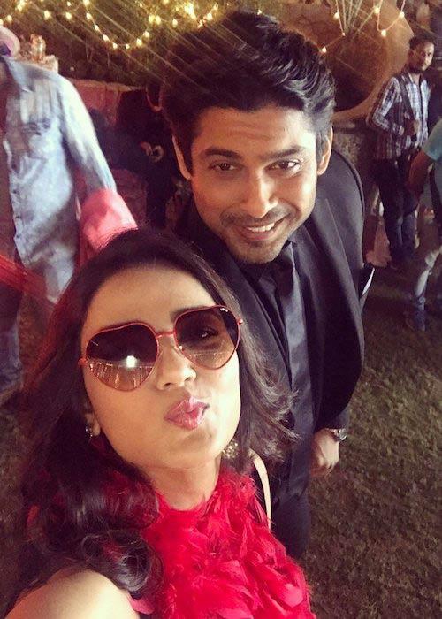 Jasmin Bhasin and Siddharth Shukla