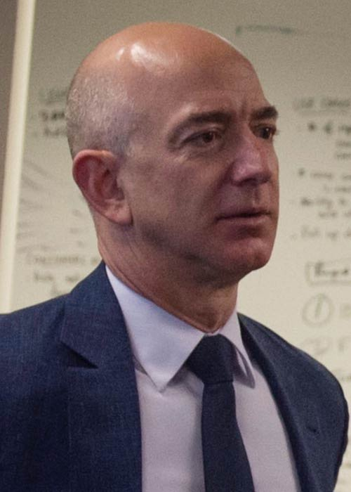 Jeff Bezos as seen in 2015