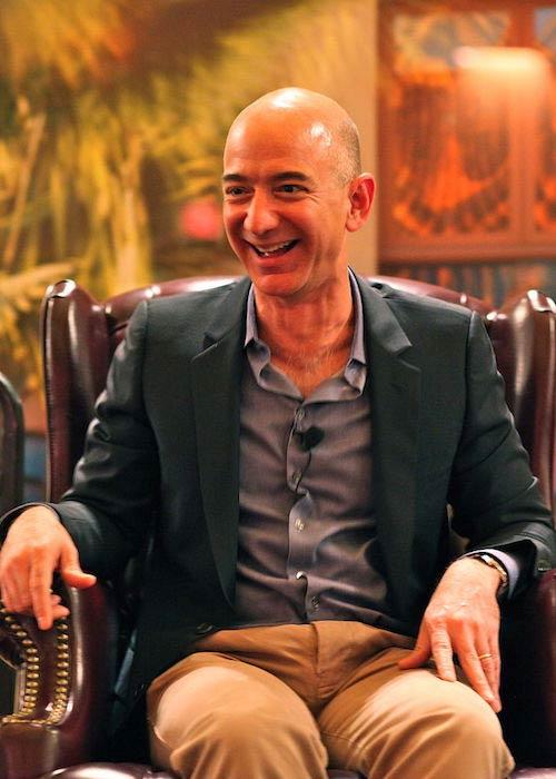Jeff Bezos at the ENCORE Awards 2010