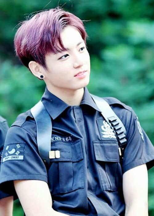 Jeon Jungkook at a fanmeeting in July 2015