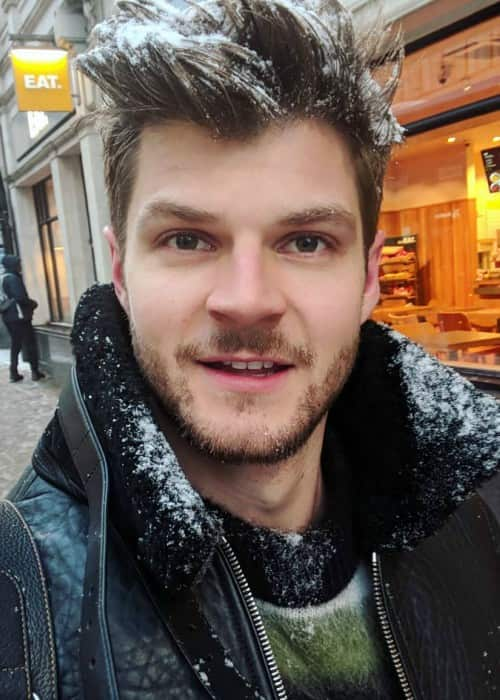 Jim Chapman in an Instagram selfie as seen in February 2018