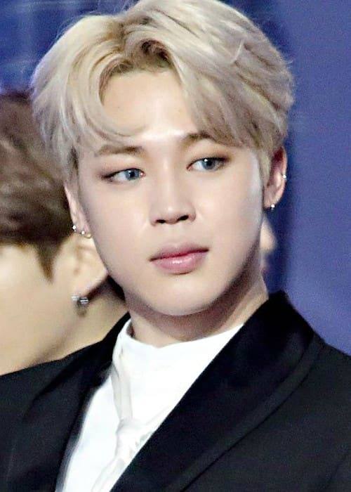 Jimin at the Golden Disk Awards on January 14, 2017