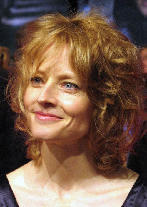 "Jodie Foster at German film premiere of ""The Brave One"" in 2007"