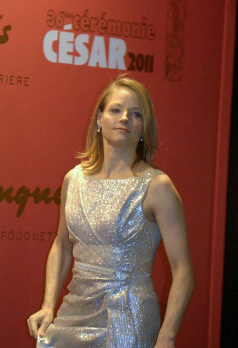 Jodie Foster at the César Awards Ceremony 2011 in Paris