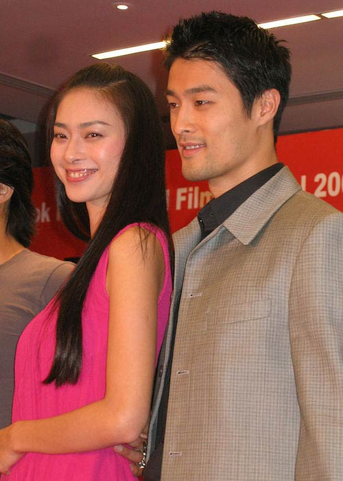 Johnny Tri Nguyen and Ngo Thanh Van at the 2007 Bangkok International Film Festival