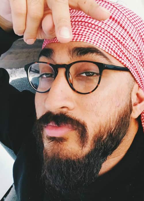 JusReign in an Instagram selfie as seen in October 2017