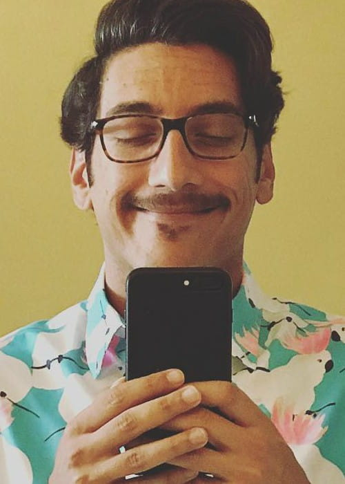 Kassem G in an Instagram selfie as seen in October 2017